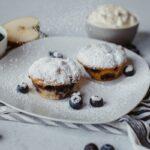 Apfel Blaubeer Muffins