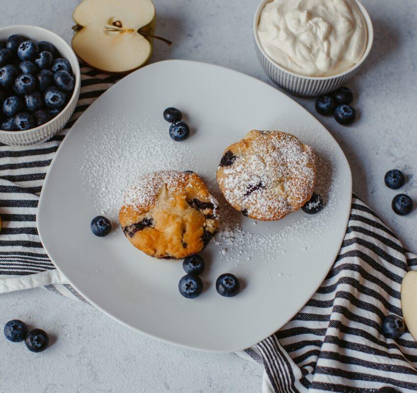 2019-10-02 - Apfel Blaubeer Muffins-6
