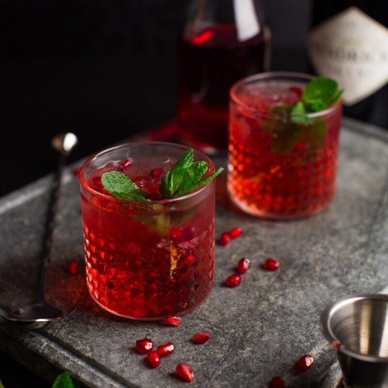 2020-02-12 - Cranberry Gin Tonic