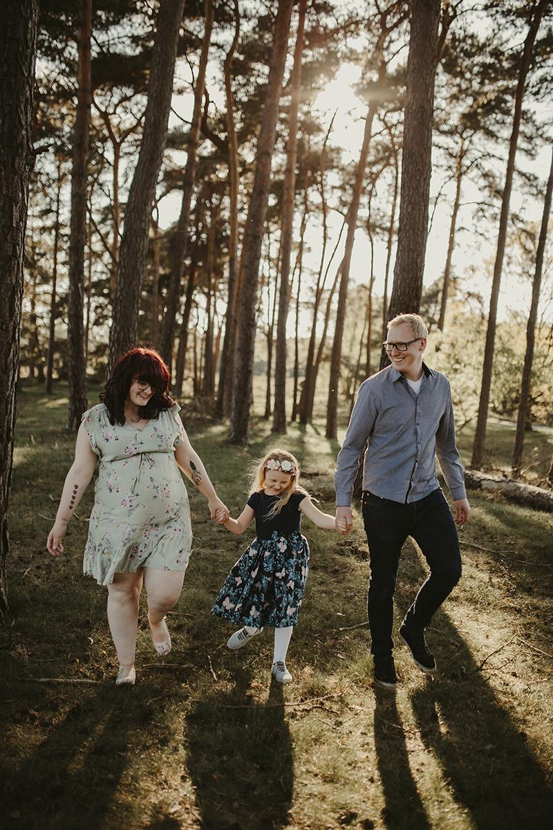Familienshooting in der Heide