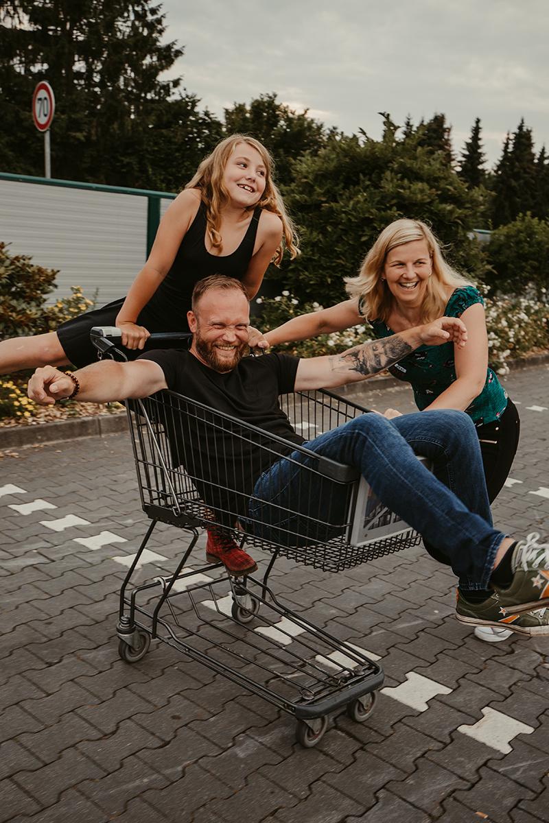 Supermarkt Familienshooting
